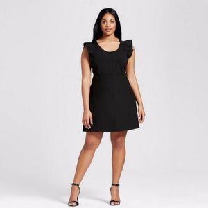 Victoria Beckham Black Sweater Dress